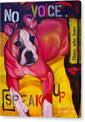 Speak Up Canvas Print