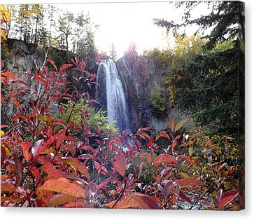 Spearfish Falls Canvas Print