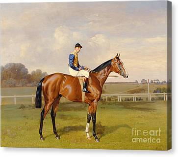 Spearmint Winner Of The 1906 Derby Canvas Print