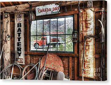 Special Delivery Canvas Print by Eddie Yerkish