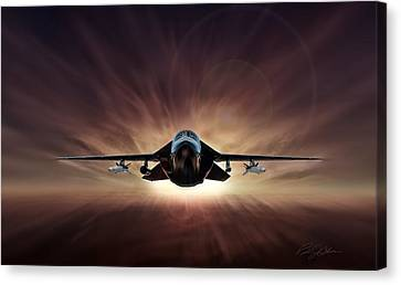 Special Delivery F-111 Canvas Print by Peter Chilelli