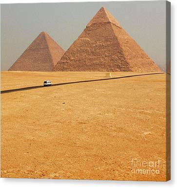 Pharaoh Canvas Print - Special Delivery by Sergio B