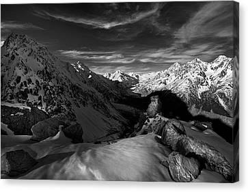 Winter Light Canvas Print - Spectrum Of Light by Yan Zhang