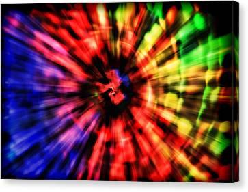 Spectrum Vortex Canvas Print by EXparte SE