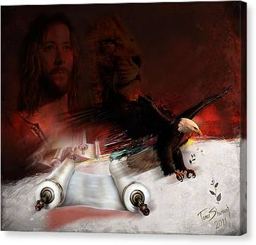 Speed In The Spirit Canvas Print by Tamer and Cindy Elsharouni