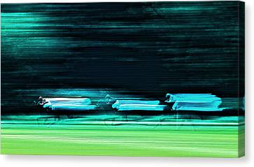 Speed Canvas Print by Jb Atelier