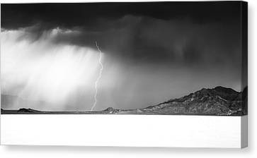 Speed Of Light- Bonneville Salt Flats Canvas Print