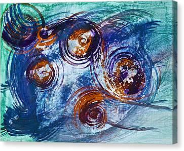 Speeding Canvas Print