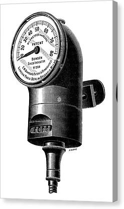 Speedometer Canvas Print - Speedometer by Science Photo Library