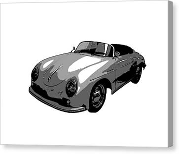 Speedster Canvas Print by J Anthony