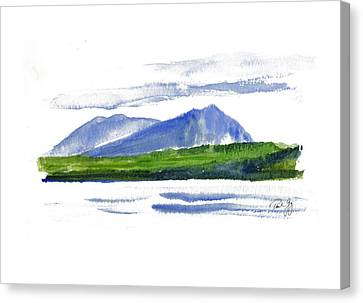 Spencer Mountain Canvas Print