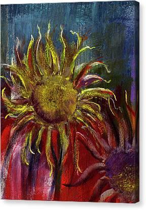 Spent Sunflower Canvas Print by David Patterson