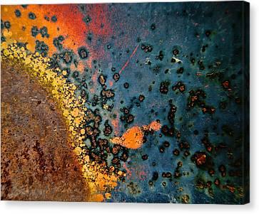 Spew Canvas Print by Leanna Lomanski