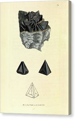 Sphalerite Mineral Canvas Print