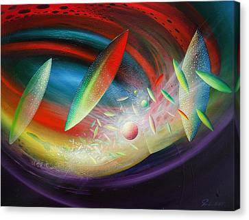 Sphere B12 Canvas Print by Drazen Pavlovic