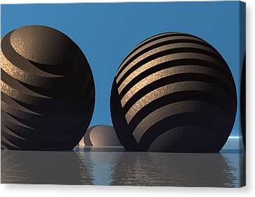 Spheres Canvas Print
