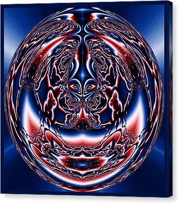 Spherical Art No 5 Canvas Print