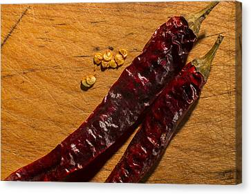 Spice It Up Canvas Print by Andrew Pacheco