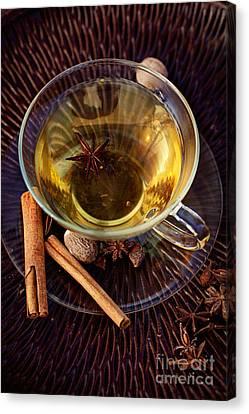 Spiced Tea Canvas Print by Mythja  Photography