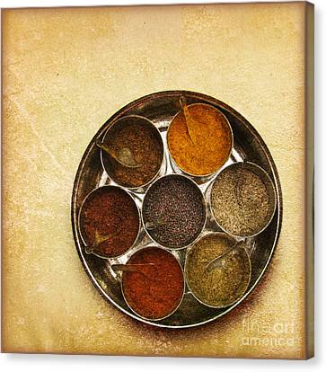 Spices Of India  Canvas Print by Prajakta P