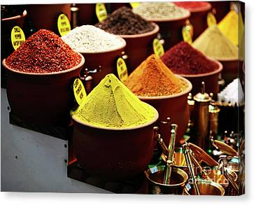 Spices Canvas Print by John Rizzuto