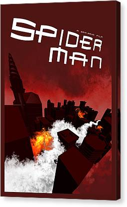 Spider-man 1 Alternative Poster Canvas Print by Edgar Ascensao
