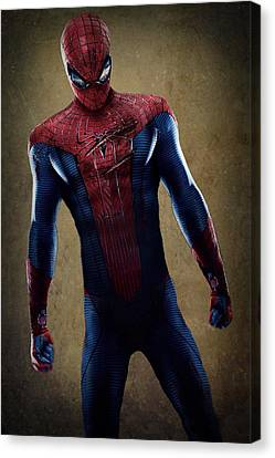 Spider-man 2.1 Canvas Print by Movie Poster Prints