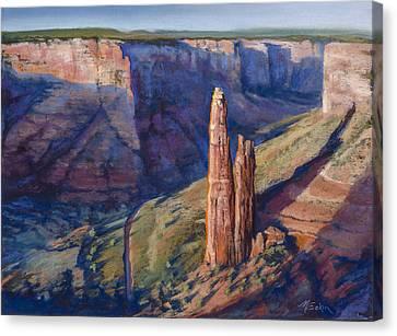 Spider Rock Canyon De Chelly Az Canvas Print