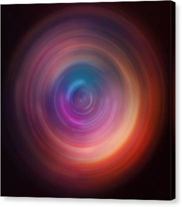 Spin Art 5 Canvas Print by Jennifer Rondinelli Reilly - Fine Art Photography