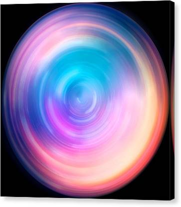 Spin Art 7 Canvas Print by Jennifer Rondinelli Reilly - Fine Art Photography