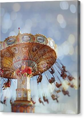 Spin Canvas Print by Melanie Alexandra Price
