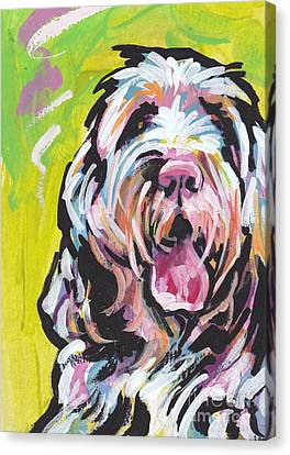 Spinone Canvas Print - Spin One Baby by Lea S
