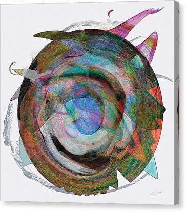 Spin One Canvas Print by David Klaboe