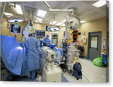 Spine Surgery Canvas Print by Jim West
