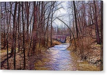 Spingtime In Western New York Canvas Print by Jim Lepard
