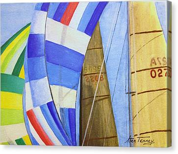 Spinnakers Canvas Print