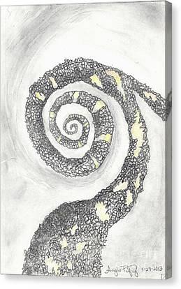 Spiral Canvas Print by Angela Pelfrey