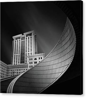 Tsui Canvas Print - Spiral City by Mohammad Rafiee