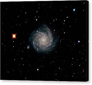 Spiral Galaxy Ngc 1232 Canvas Print