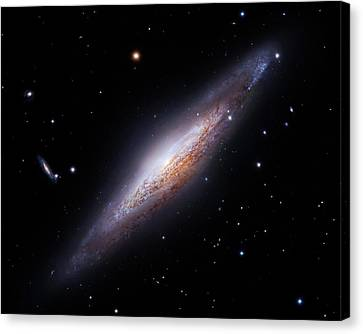 Spiral Galaxy Ngc 2683 Canvas Print