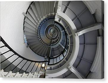 Canvas Print featuring the photograph Spiral by Laurie Perry