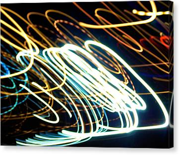 Skyline Canvas Print - Spiral Light Among Dwellers About The City by Paulo Guimaraes