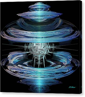 Spiral Movement Canvas Print by Michael Durst