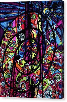 Spiral Night Canvas Print