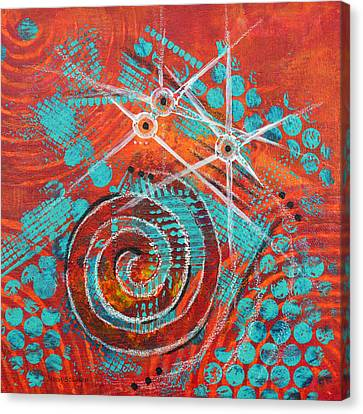 Spiral Series - Missive Canvas Print by Moon Stumpp