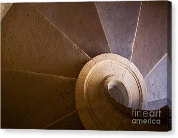 Spiral Staircase  Canvas Print by Jose Elias - Sofia Pereira