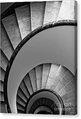 Spiral Staircase Canvas Print by Prints of Italy