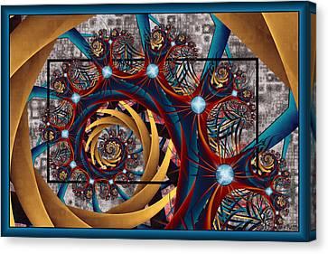 Spiraling Canvas Print by Kim Redd