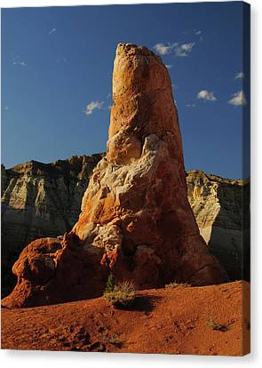 Spire, Kodachrome Basin State Park Canvas Print by Michel Hersen