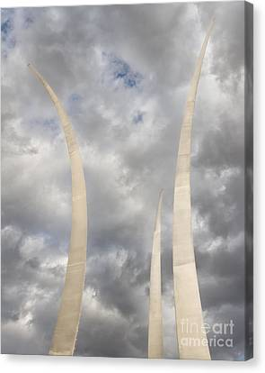 Spires Upward-2 Canvas Print